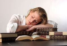 Girl student Royalty Free Stock Image
