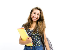 Girl student Stock Photography