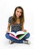 Girl student Royalty Free Stock Images