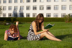 Girl students Royalty Free Stock Image