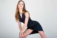 Girl in studio Stock Photos