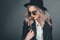 The girl Royalty Free Stock Photography