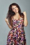Girl in studio Stock Photography