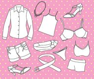 Girl stuff Royalty Free Stock Photo