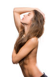 Girl style nude Royalty Free Stock Images