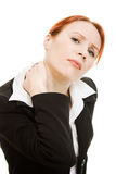 Girl suffering from the pain Royalty Free Stock Photo
