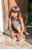 Girl from Sumatra Stock Image