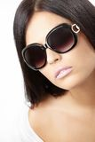 Girl in sun glasses Stock Photography