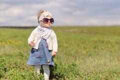 Girl in Sun Glasses Stock Photos