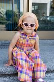 Girl in sunglasses Royalty Free Stock Image