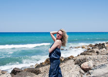 girl sunglasses young Стоковое фото RF