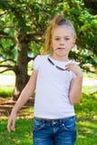 girl sunglasses young Стоковые Изображения RF