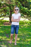 girl sunglasses young Стоковое Фото