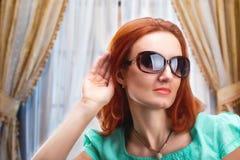 girl sunglasses young Стоковая Фотография RF