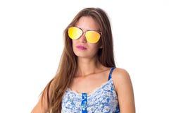 girl sunglasses young Стоковые Фотографии RF