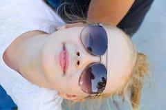 girl sunglasses young Стоковое Изображение