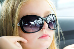 girl sunglasses young Стоковые Фото