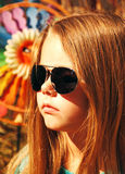 Girl in sunglasses. Royalty Free Stock Images