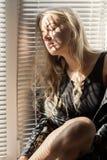 Girl in sunlight Stock Photo