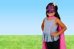 Girl Super Hero Royalty Free Stock Images