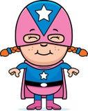Girl Superhero vector illustration