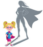 Girl Superheroine Concept Royalty Free Stock Photo