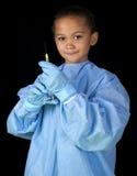 Girl surgeon Royalty Free Stock Photo
