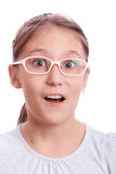 Girl surprised Royalty Free Stock Photography
