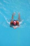 Girl Swimming Stock Image
