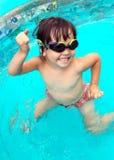 Girl in swimming pool Royalty Free Stock Photo
