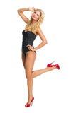 Girl in swimsuit Stock Photo