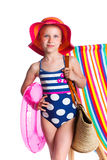 Girl in swimsuit Royalty Free Stock Image