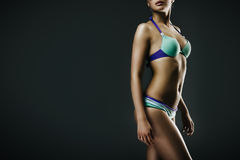 Girl in swimwear Royalty Free Stock Photography