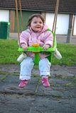 Girl on Swing 2 Royalty Free Stock Photo