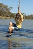 Girl swinging Royalty Free Stock Photos