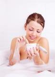 Girl Taking A Bath Royalty Free Stock Image