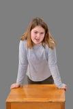 Girl Talking Royalty Free Stock Image