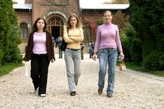 Girl team Stock Photo