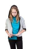 girl teenager Stock Image