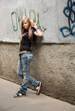 The girl - teenager Royalty Free Stock Images