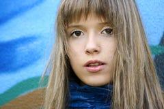 Girl teenager. Royalty Free Stock Photos