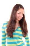 Girl The Teenager . Royalty Free Stock Photo