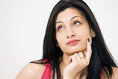 Free Girl Thinking Or Remembering Royalty Free Stock Photography - 17391747