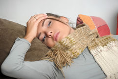 Girl tired Stock Photo