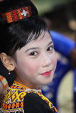 Girl at Toraja Funeral Ceremony Stock Photos
