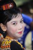 Girl at Toraja Funeral Ceremony Stock Photos