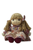 Girl toy doll Royalty Free Stock Images