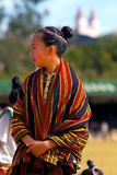 Girl with Traditional Igorot Clothing Royalty Free Stock Photos