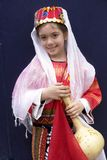 Girl in traditional turkish ottoman clothes. Girl in traditional turkish ottoman authentic clothes stock photography