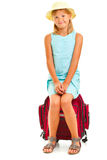 Girl travelling Royalty Free Stock Photography